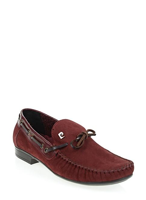 Pierre Cardin Loafer Ayakkabı Bordo